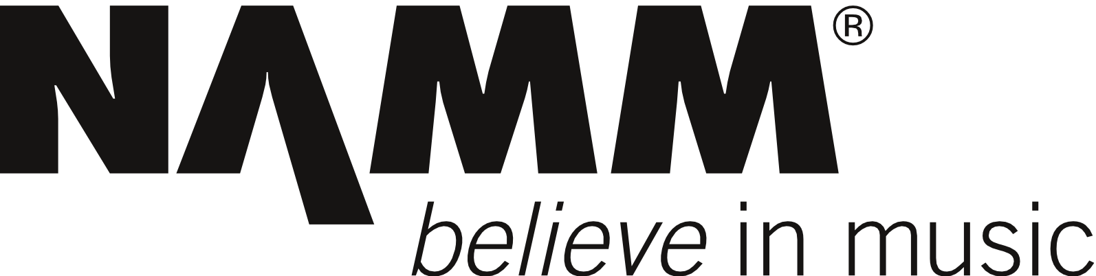 NAMM - believe in music